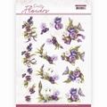 Precious Marieke knipvel Pretty Flowers-Flower, Swan CD11582