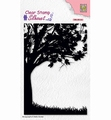 Nellie Snellen Silhouette Clear Stamp Tree SIL074