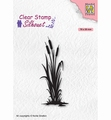 Nellie Snellen Silhouette Clear Stamp bulrushes 2    SIL077