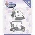 Yvonne Creations Die Funky Hobbies - Golf YCD10229