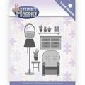 Yvonne Creations Die Funky Hobbies - Living Room YCD10227