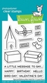 Lawn Fawn Clear Stamp Special Delivery Box Add-on LF2468