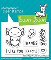 Lawn Fawn Clear Stamp I like You (A Lotl) LF2464