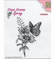 Nellie Snellen Clear Stamp Butterfly SPCS018