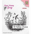 Nellie Snellen Clear Stamp Spring is in the Air SPCS016