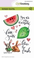 Craft Emotions Clear Stamp Love Puns 3   130501/1506