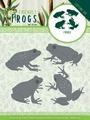 Amy Design Snijmal Friendly Frogs - Frog ADD10229