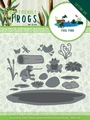 Amy Design Snijmal Friendly Frogs - Frog Pond ADD10228