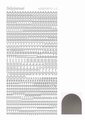 Hobbydots Sticker - Mirror - Silver STDMLC8