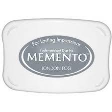 Memento Inktkussen Groot London Fog ME-901
