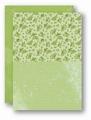 Nellie Snellen Achtergrondvel Groen Roses NEVA028