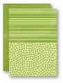 Nellie Snellen Achtergrondvel Groen Flowers NEVA030*