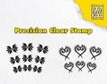 Nellie Snellen Precission Clear Stamp Hearts APST022