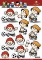 Mainzel Männchen 3D Knipvel Voetbal Duitsland MM10015