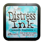 Distress ink GROOT Peacock Feathers 34933