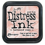 Distress ink GROOT Tattered Rose 20240