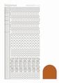 Hobbydots Sticker - Mirror - Copper STDM17B  per vel