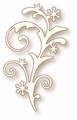 Wild Rose Studio Cutting Die Snow Flourish SD025