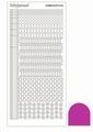 Hobbydots Sticker - Mirror - Pink STDM16F  per vel