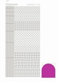Hobbydots Sticker - Mirror - Pink STDM10F  per vel
