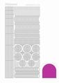 Hobbydots Sticker - Mirror - Pink STDM06F per vel