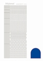 Hobbydots Sticker - Mirror - Blue STDM05A