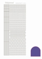 Hobbydots Sticker - Mirror - Purple STDM059  per vel