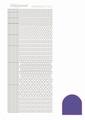 Hobbydots Sticker - Mirror - Purple STDM059
