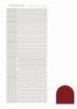 Hobbydots Sticker - Mirror - Red STDM054