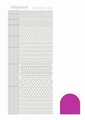 Hobbydots Sticker - Mirror - Pink STDM05F