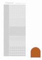 Hobbydots Sticker - Mirror - Copper STDM04B per vel