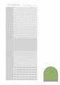 Hobbydots Sticker - Mirror - Lime STDM04C per vel