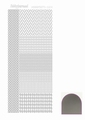 Hobbydots Sticker - Mirror - Silver STDM048 per vel
