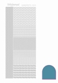 Hobbydots Sticker - Mirror - Turquoise STDM04D per vel