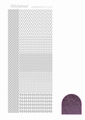 Hobbydots Sticker - Mirror - Violet STDM046