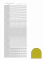 Hobbydots Sticker - Mirror - Yellow STDM04E per vel