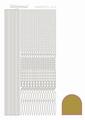 Hobbydots Sticker - Mirror - Gold STDM037  per vel