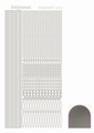 Hobbydots Sticker - Mirror - Silver STDM038