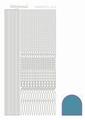Hobbydots Sticker - Mirror - Turquoise STDM03D  per vel