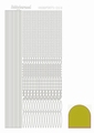 Hobbydots Sticker - Mirror - Yellow STDM03E per vel