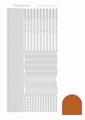 Hobbydots Sticker - Mirror - Copper STDM02B per vel