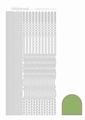 Hobbydots Sticker - Mirror - Lime STDM02C per vel