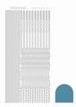Hobbydots Sticker - Mirror - Turquoise STDM02D per vel