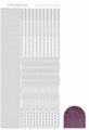 Hobbydots Sticker - Mirror - Violet STDM026 per vel