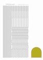 Hobbydots Sticker - Mirror - Yellow STDM02E per vel
