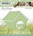 Amy Design Snijmal - Animal Medley - Dog House ADD10022*