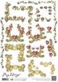 Amy Design knipvel Regular Art Nouveau CD10268*