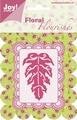Joy Crafts Snijmal Floral Flourishes Blad 6003/0007*
