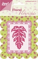 Joy Crafts Snijmal Floral Flourishes Blad 6003/0007