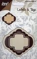 Joy Crafts Snijstencil Labels & Tags 6002/0143*